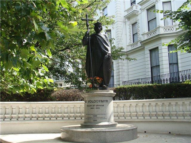 29 травня 1988 – Відкриття і посвячення пам'ятника св. кн. Володимирові Великому у Лондоні. - 29 Травня 2015 - Інгульська Паланка
